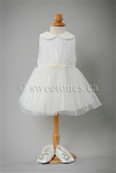 Christening satin gown