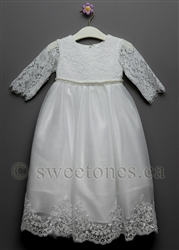 Baby Girl Christening lace dress Baptism lace gown