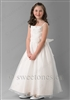 Satin and organza girls dress – Style FC-Charlie