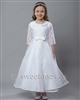White first communion dress – Style FC-Lauran