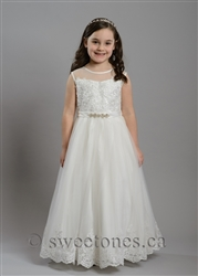 Lace tulle girls dress– Style FC-Lindsay-IV