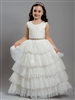 Ruffled tulle girls dress– Style FC-Rachel