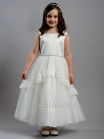 First Communion girl dress– Style FC-Sandra