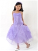 Beautiful lilac organza overlay formal dress – Style FG-001-PU