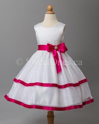 White flower girl dresses flower girl dresses and shoes infant alternative views mightylinksfo Gallery