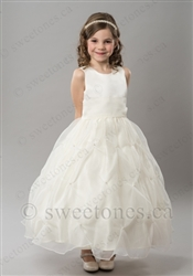 Custom flower girl dress