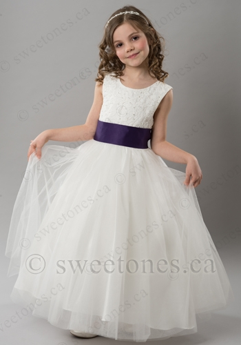 flower girl lace dresses