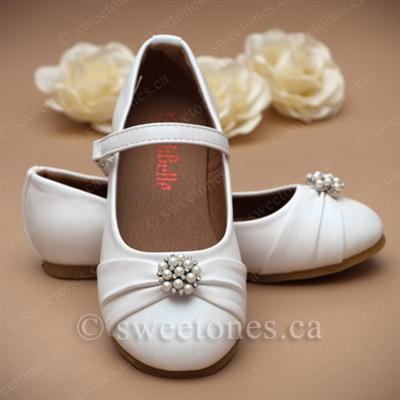 ba46fcd9f6f White ballerina shoes - Style G-SHOES-1702