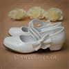 First communion accessories white mary jane shoes