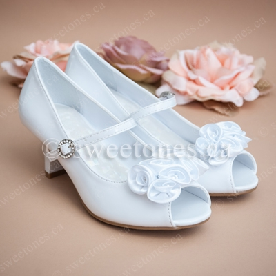 Flower girl shoes first communion shoes children formal wear shoes alternative views mightylinksfo Choice Image