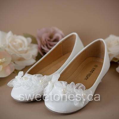 White Communion Shoes Size