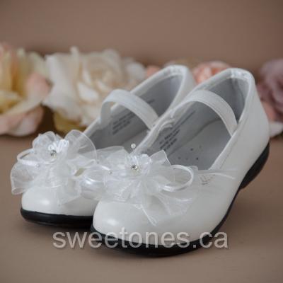 42f1d84ba21 white ballerina flat first communion shoes