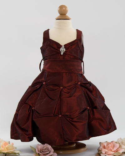 Burgundy Baby Girl Dresses Baby Dress Infant Baby