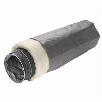 AC02091 4'' X 10' INSULATED FLEX PIPE FOR FRESH AIR INTAKE KIT