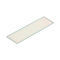"AC02760 GLASS HEARTH PAD 10 mm - 18"" x 50"""
