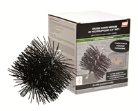 "AC04501  7"" ROUND BRUSH WITH POLYPROPYLENE BRISTLES"