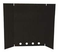AC05555 BLACK HEAT SHIELD