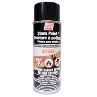 AC05959 METALLIC BLACK STOVE PAINT