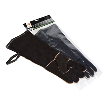"AC07822 19"" KEVLAR THREAD SEWN FIREPLACE GLOVES"