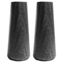 AC09147 ROUND BLACK WOODEN HANDLE KIT