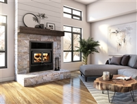 Everest Wood Fireplace