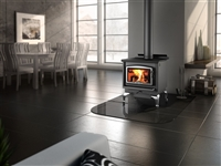 Osburn 1600 wood stove on legs