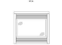 Osburn DV36 Gas Fireplace Parts
