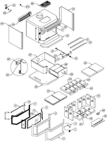 Osburn 1800 Wood Stove Parts Diagram