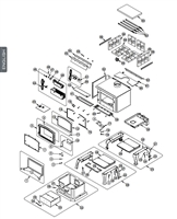 OsburnWoodStoves.com - Every part for the Osburn 2000. Select the Osburn 2000 part from the drop down menu after looking at the parts diagram.