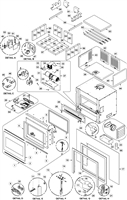 OsburnWoodStoves.com - Every part for the Osburn 2000 Insert. Select the Osburn 2000 part from the drop down menu after looking at the parts diagram.