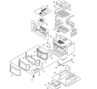 OsburnWoodStoves.com - Every part for the Osburn 2200 wood stove. Select the Osburn 2200 part from the drop down menu after looking at the parts diagram.