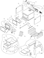 OsburnWoodStoves.com - Every part for the Osburn 2300 wood stove. Select the Osburn 2300 part from the drop down menu after looking at the parts diagram.