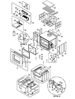 Osburn Soho Wood Stove Parts Diagram OB01521