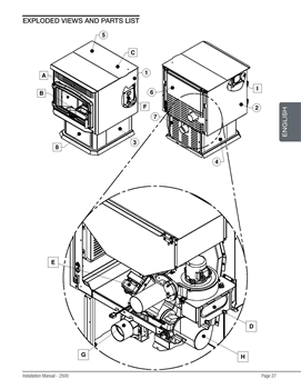 OsburnWoodStoves.com - Every part for the Osburn 2500. Select the Osburn 2500 part from the drop down menu after looking at the parts diagram.