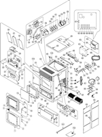 OsburnWoodStoves.com - Every part for the Osburn 5000. Select the Osburn 5000 part from the drop down menu after looking at the parts diagram.