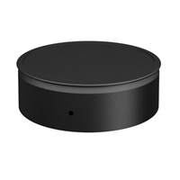 "SP00130 6"" Black Single Wall Cap"