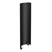 "SP00253 6'' Black Single Wall Standard Screen, 36"" length"