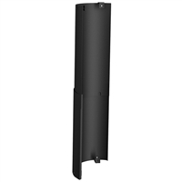 "SP00259 6'' Black Single Wall Standard Screen, 48"" length"