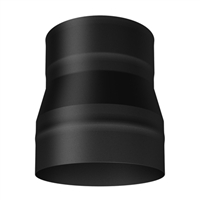 SP00330 Single Wall Black Increaser
