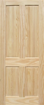 4P Clear Pine Fire Door