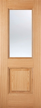 Arnhem Glazed  Oak Interior Door
