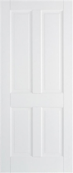 Canterbury 4P Solid White Fire Door
