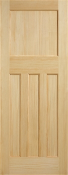 DX30 Clear Pine Fire Door