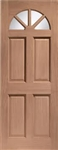 Carolina 4P Hardwood Exterior Door