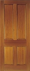 Colonial 4P Hardwood Exterior Door
