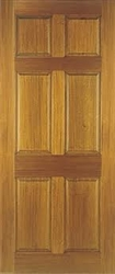 Colonial 6P Hardwood Exterior Door