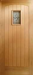 Cottage Hardwood Exterior Door
