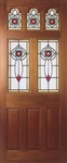Ealing Rose Hardwood Exterior Door