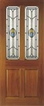 Edwardian Blue Hardwood Exterior Door