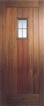 Hillingdon Lead Light Hardwood Exterior Door